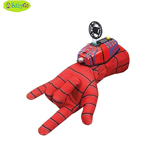 BabyGo Ultimate Spiderman Gloves with Disc Launcher (BabyGo-vsi_spidygloves)