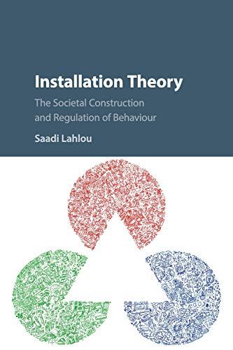 Installation Theory: The Societal Construction and Regulation of Behaviour