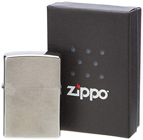 Zippo Benzin Feuerzeug Chrom Standard gebürstet Regular Sturmfeuerzeug - 2