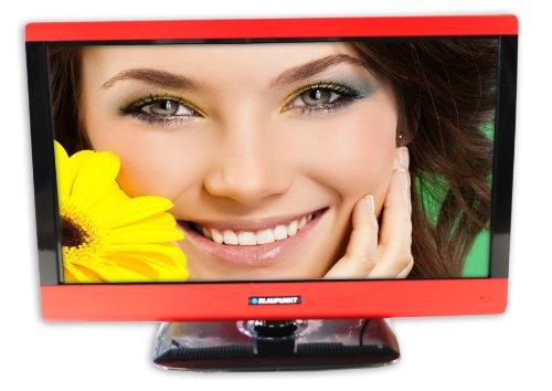 """BLAUPUNKT 23/50E Blaupunkt 23/50E 23"""" LED TV Integral DVD Player FreeView Red Highlights HDMI 1366 x 768"""