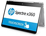 HP Spectre x360 (13-ac002ng) 33,8 cm (13,3 Zoll / Full HD Touchscreen) Convertible Ultrabook (2in1 Laptop mit Intel Core i7-7500U, 16 GB RAM, 1 TB SSD, Intel HD-Grafikkarte 620, Windows 10 Home 64) silber