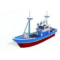 Artymon - Kit de madera Barco pesquero, color marrón (Keranova 5101)