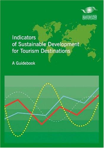 Indicators of sustainable development for tourism destination par OMT