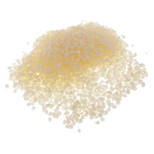 Baoblaze 100g Wachs Weiße Pellets Bienenwachs Pastillen Bienen Wachs Kezenwachs für Seifenherstellung Kosmetik DIY Lip Balms -