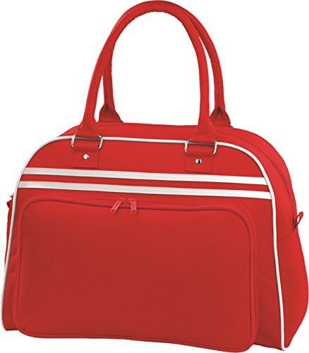 BagBase Retro Bowling Bag 1er Pack Classic Red/White