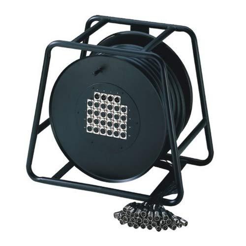 Adam Hall K 20 C 30 D 16/4er Multicore-Kabel mit Stagebox (Kabeltrommel, 30m)