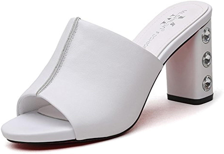 HAIZHEN Chaussures pour pour Chaussures Femmes Chaussures pour Femmes en Caoutchouc Confort d'été  s Chaussures de Marche...B07CDVSL9LParent 145091
