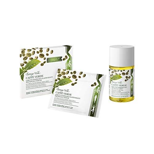 Bottega Verda - Offerta limitata Kit Anticellulite Cerotti e Olio per Massaggio Anticellulite