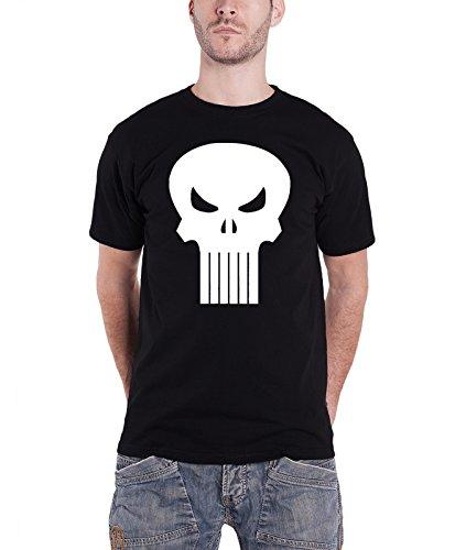 Punisher T Shirt Skull Logo Nue Offiziell Marvel Comics Herren Das Punisher-logo-poster