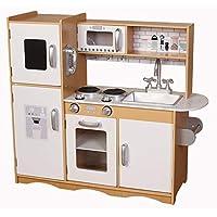 Kiddi-Style Modern Chefs-247 XLarge Childrens Kids Pretend Play Toy Wooden Kitchen
