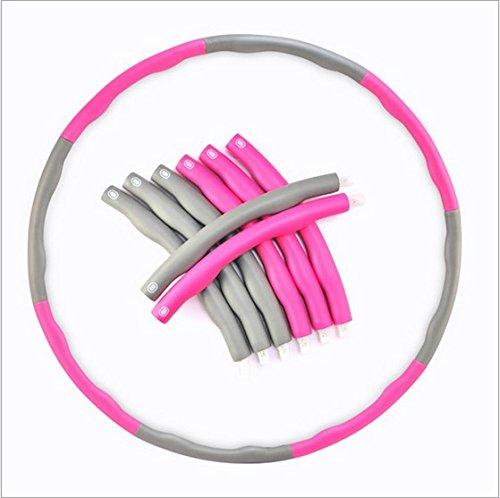 southsky-the-original-rose-avec-rembourrage-en-mousse-7-sections-leste-09-kg-85-cm-de-diametre-exerc