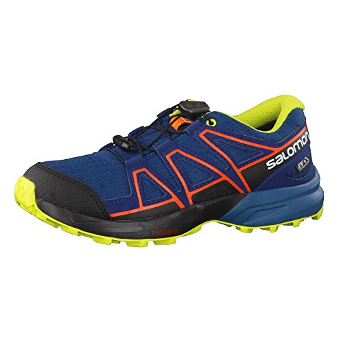 Salomon Speedcross CSWP J, Chaussures de Randonnée Basses Garçon, Violet, 13.5 EU