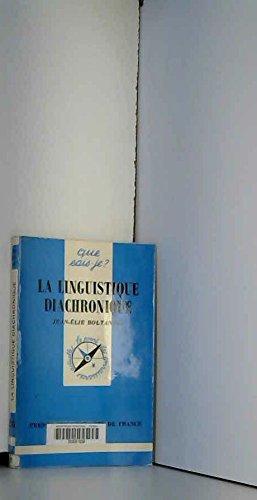 La linguistique diachronique