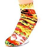 Gadget Paradise unisex 3D ankle socks birthday Christmas gift Pack of 5