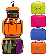 4tens Travel Cosmetic Pouch Toiletries Make Up Folding Wash Bag