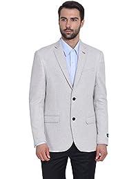 GIVO Men's Silver Knit Jacket