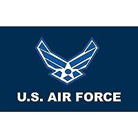 AzuNaisi Praktisch US Air Force Flag Durable Air Flügel Flagge tragbares Metall Grommet Flagge für Festival Veranstaltungen |3 * 5FT Home dekor