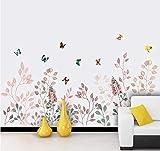 Pegatinas de pared Hierba fresca Zócalo Dormitorio Dormitorio Sala de estar Estudio Decoración de pared junto a la cama