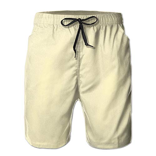 Pro-sun-pearl (Men's Summer Quick Dry Beach Shorts Surf Pants Swim Shorts A Variety of Colors Are Available Medium)
