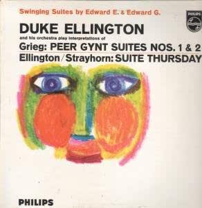 SWINGING SUITES BY EDWARD E AND EDWARD G LP UK PHILIPS 1961 9 TRACK BUT HAS LIGHT SCUFF MARKS ON EDGES OF SLEEVE (BBL7470)