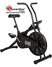 Powermax Fitness BU203 Air Bike with Fixed Handles Exercis