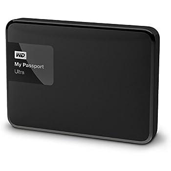WD WDBBKD0030BBK-EESN My Passport Ultra Hard Disk Esterno Portatile, USB 3.0, 3 TB, Nero