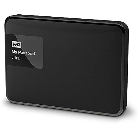 WD My Passport Ultra - Disco duro externo portátil de 3 TB (2.5