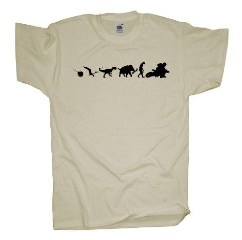 Ma2ca - 500 Mio Motocross T-Shirt Natural