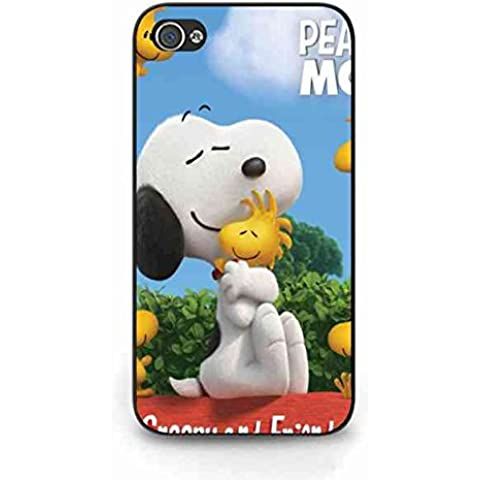 Snoopy Apple iPhone 4 Peanuts Snoopy Movie, Cover,Snoopy Custodia Silicone Gel Cover Apple iPhone 4S,Snoopy Apple iPhone 4 Peanuts Snoopy Movie, Custodia