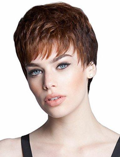 Perruque & xzl Perruques Fashion mode européenne et américaine must-have fille perruque de haute qualité