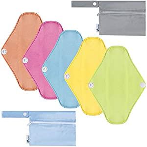 Rovtop Bamboo Washable Sanitary Pads