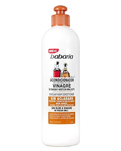 Babaria Acondicionador Capilar Sin Aclarado de Extracto de Vinagre - 400 ml