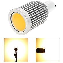 7W GU10 Focos LED MR16 1 COB 850 lm Blanco Cálido / Blanco Fresco Regulable AC 100-240 / AC 110-130 V 1 pieza ( Color de Luz : Blanco Frío , Voltaje : 220v )