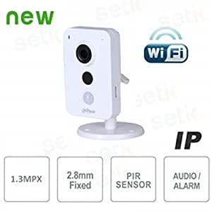 Dahua K-Series DH-IPC-K15 1.3MP Wi-Fi Network Camera (White)