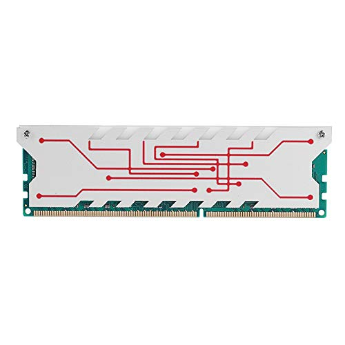 Memoria RAM DDR3, 4GB Memoria DDR3 1600MHz Compatible completa Memoria RAM para computadora de escritorio 240Pin con Clip de enfriamiento Compatible para computadora de escritorio DDR3 PC3-12800