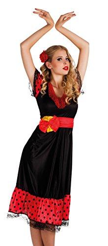 Make Kostüm Up Senorita (Boland 83622 - Erwachsenenkostüm Flamenco Woman,)