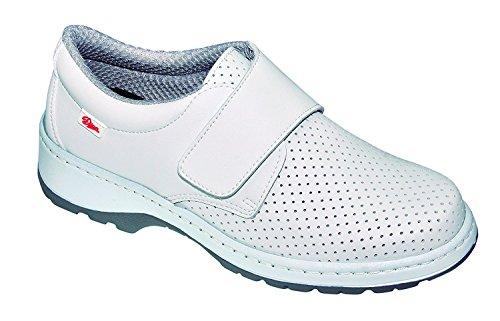 Oxypas Oxyva 'Ligero, Lavable, Antideslizante EVA - Zapatos de Enfermería con Absorción de Golpes y Apoyo Postural, Color Azul, Talla 43/44 EU