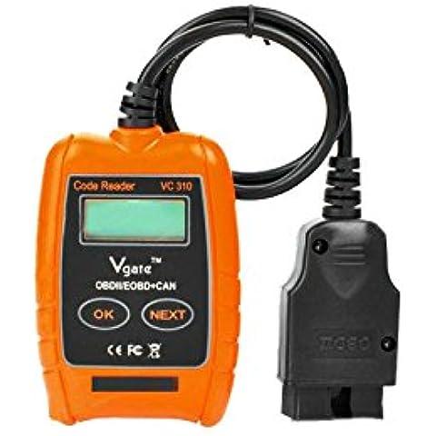Scanner diagnostico per auto e lettore di codice Vgate VC310 ODB-II EODB VAG CAN - Audi Servizio Di Trasmissione