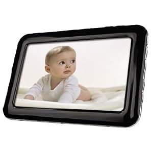 Hama Slimline Digitaler Bilderrahmen 17,78 cm (7 Zoll) schwarz/silber
