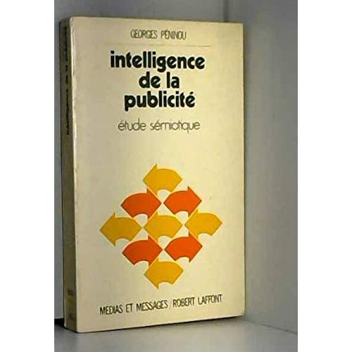 INTELLIGENCE DE LA PUBLICITE