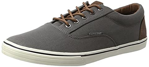 JACK & JONES Herren Jfwvision Mixed Castlerock Sneaker, Grau (Castlerock), 44 EU