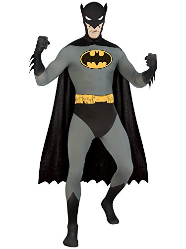 2nd Skin Batman Ganzkörperanzug Second Skin Kostüm für (Kostüme 2nd Batman Skin)