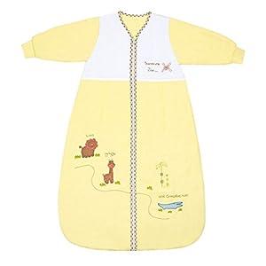 Slumbersac Saco de dormir de bebé Invierno manga larga aprox. 3.5 Tog, Zoo, varias tallas: de nacimiento a 6 años