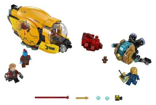 LEGO Marvel Super Heroes 76080 - Ayeshas Rache, ()