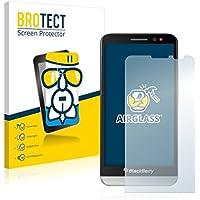 BROTECT AirGlass pellicola vetro flessibile per RIM BlackBerry A10 Aristo (estremamente robusta, ridotto spessore, elevata trasparenza, anti-impronte e antimacchia, installazione senza bolle)