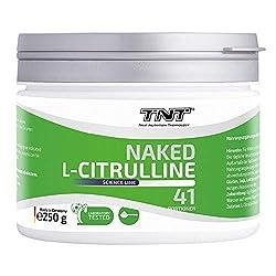 TNT - 250g Reines Citrullin Malat Pulver - Made in Germany - Laborgetestet - Top Löslichkeit
