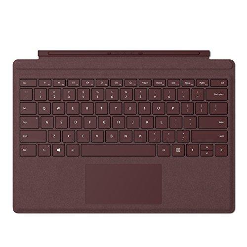 Microsoft Clavier Type Cover pour  Surface Pro Bordeaux - AZERTY