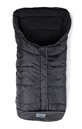 Altabebe AL2203-03  Winter Footmuf For Buggy And Stroller, Nero/Nero