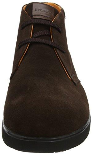 Stonefly Herren Town 6 Velour Desert Boots Braun (Ebano 1a01)
