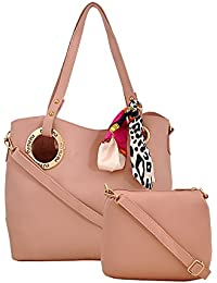 R3 Women's Handbags With Sling Bag Peach-R3-4